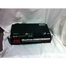 BBE MaxCom Dual-Channel Compressor