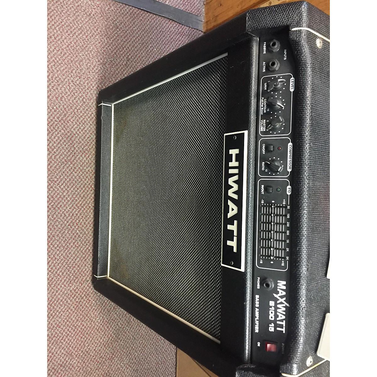 Hiwatt Maxwatt B100 15 Bass Combo Amp