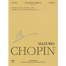 PWM Mazurkas PWM Series Softcover Composed by Frederic Chopin Edited by Jan Ekier