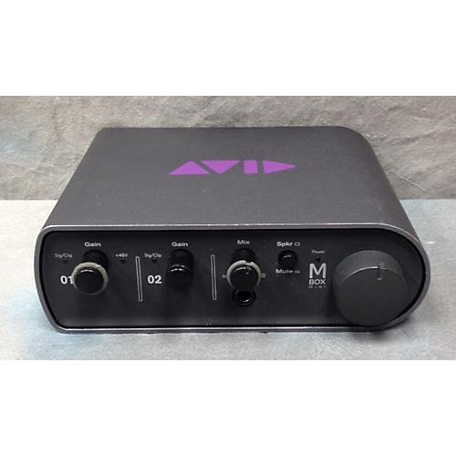 used avid mbox mini audio interface guitar center. Black Bedroom Furniture Sets. Home Design Ideas