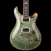 McCarty Carved Flame Maple Top Bird Inlays Trampas Green