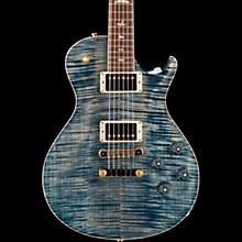 PRS McCarty SingleCut 594 with Pattern Vintage Neck, 10 Top Electric Guitar Faded Whale Blue