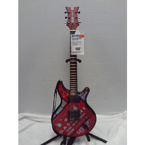 Cort McSwain Gasoline 1-BKS Solid Body Electric Guitar