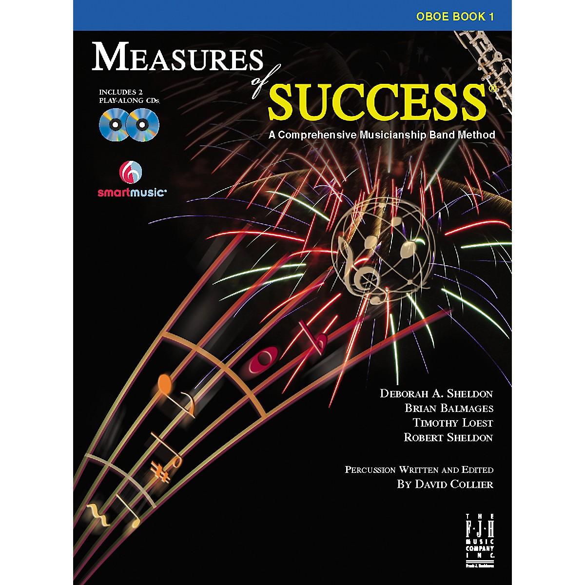 FJH Music Measures of Success Oboe Book 1