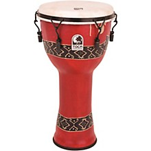 Mechanically Tuned Djembe with Extended Rim 10 in. Bali Red
