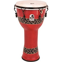 Mechanically Tuned Djembe with Extended Rim 9 in. Bali Red