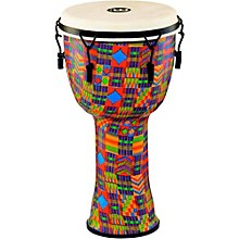 Mechanically Tuned Djembe with Synthetic Shell and Goat Skin Head 12 in. Kenyan Quilt
