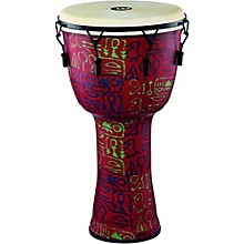Meinl Mechanically Tuned Djembe with Synthetic Shell and Goat Skin Head