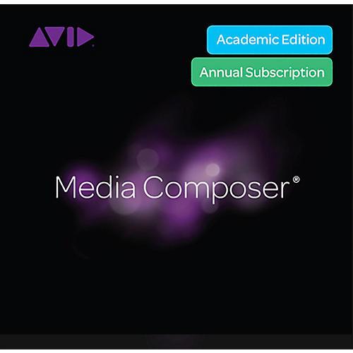 Avid Media Composer Student Subscription