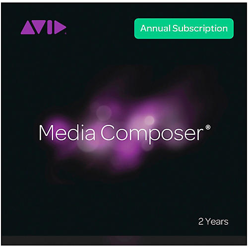 Avid Media Composer Subscription (2 years)