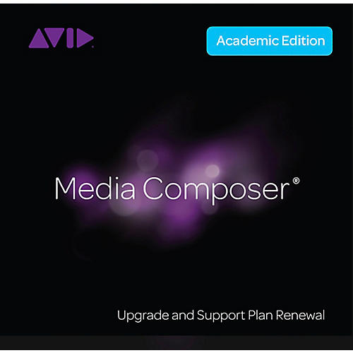 Avid Media Composer for Education Standard Support & Upgrade Renewal (Activation Code)