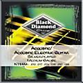 Black Diamond Medium Gauge Silver-Plated Acoustic-Electric Guitar Strings thumbnail