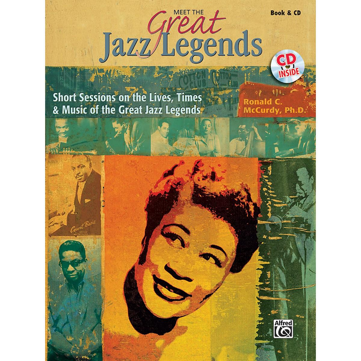Alfred Meet the Great Jazz Legends Book & CD