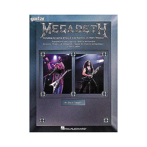 Hal Leonard Megadeath - Guitar School Book