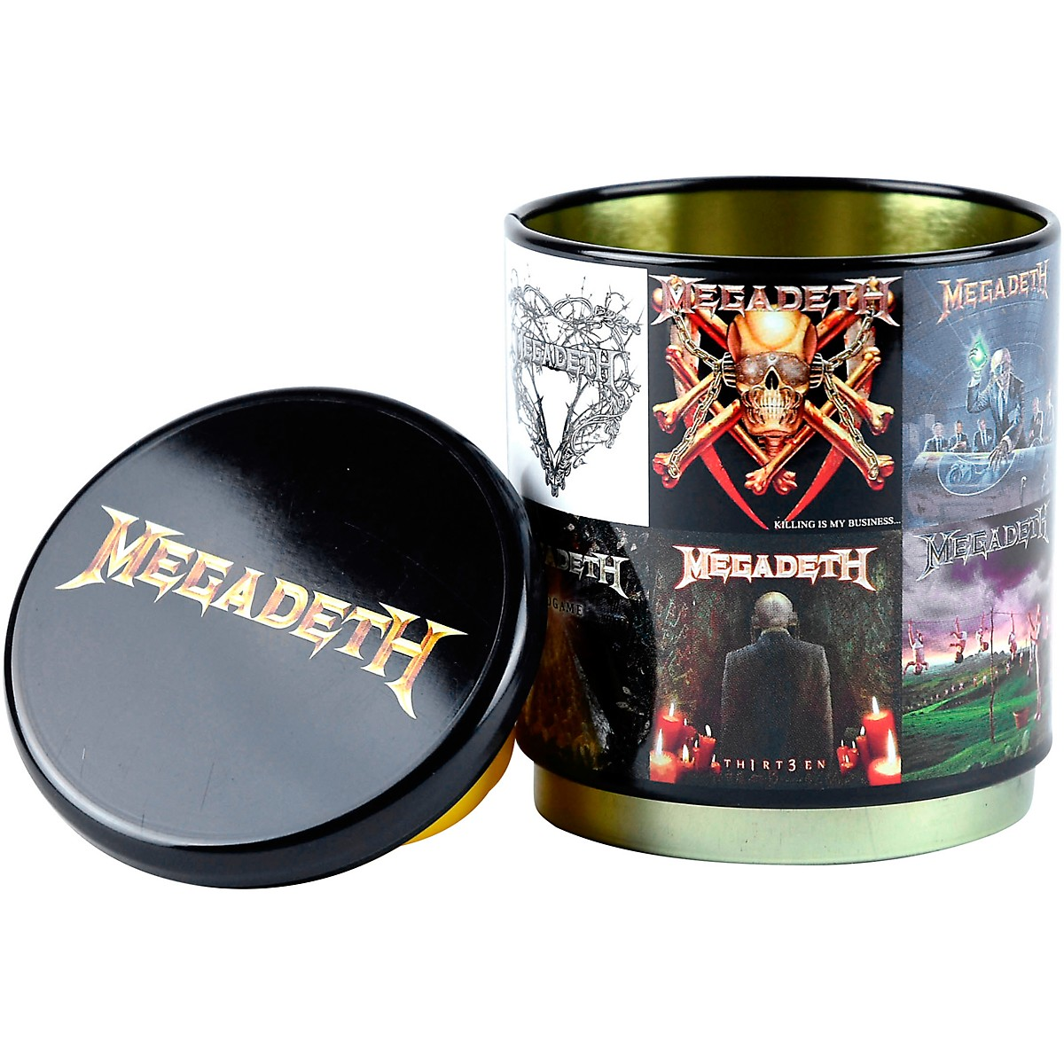 Iconic Concepts Megadeth: Albums - Stackable Stash Tin