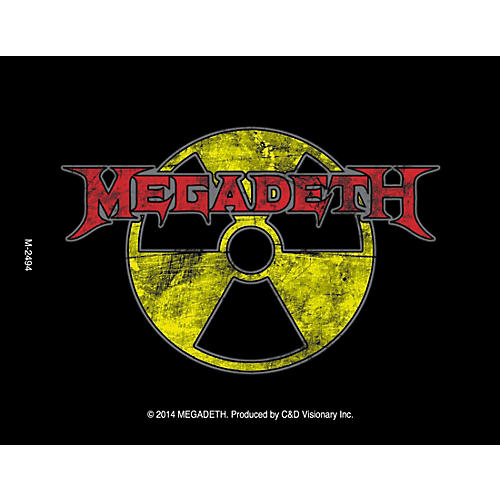 C&D Visionary Megadeth Radioactive Magnet