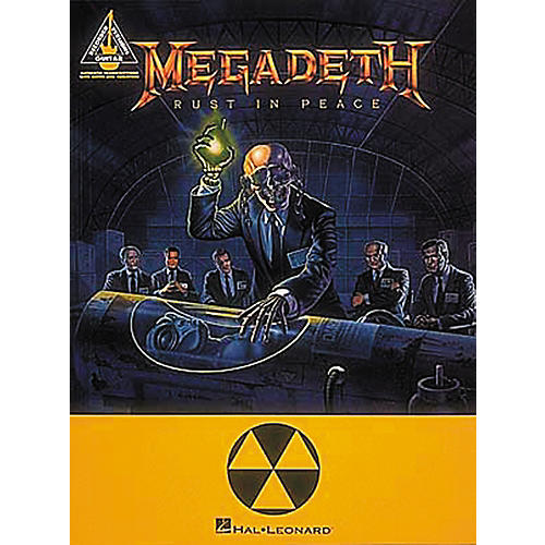 Hal Leonard Megadeth Rust In Peace Guitar Tab Songbook