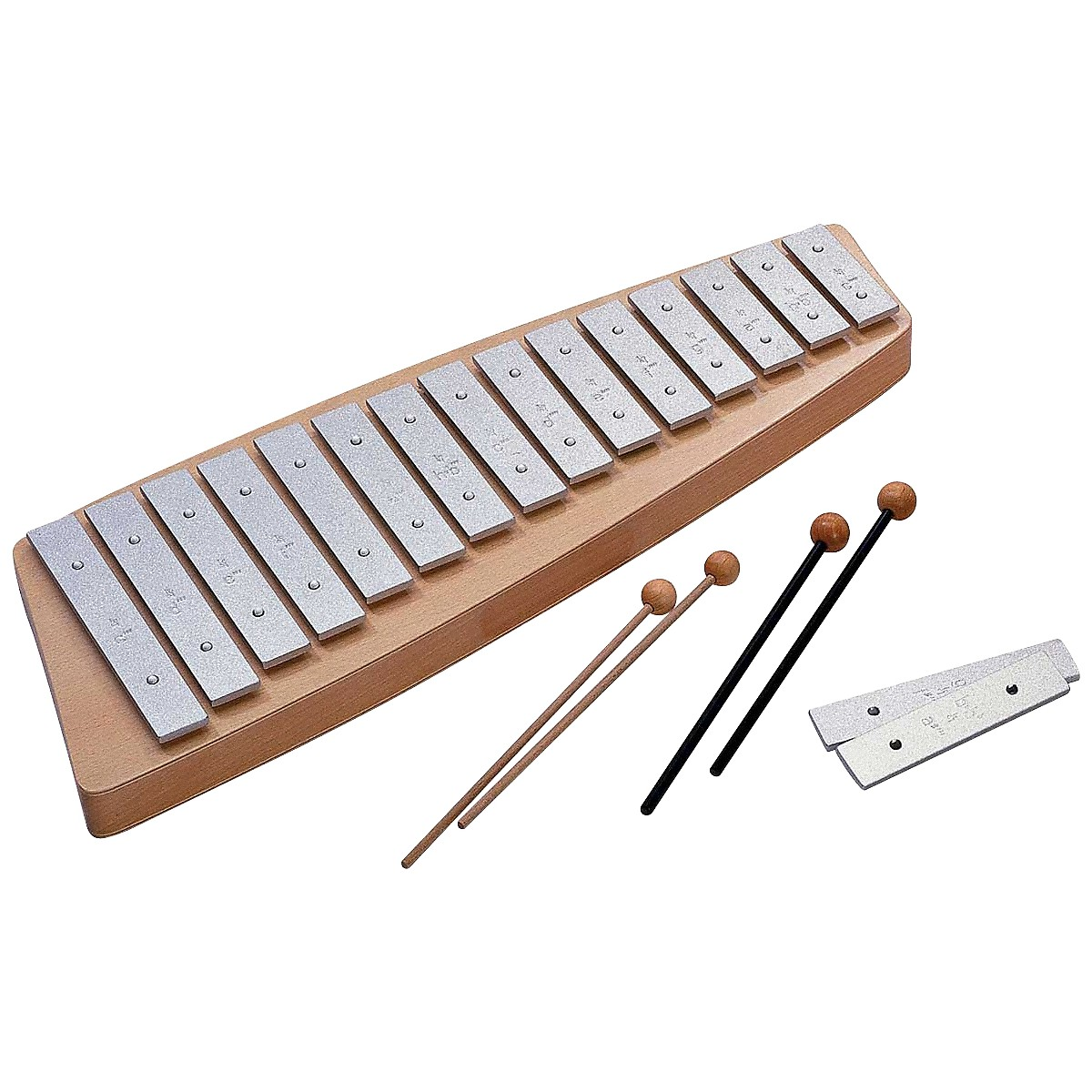 Sonor Orff Meisterklasse Tenor-Alto Glockenspiels Diatonic Tenor-Alto, Tag 19