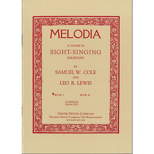Carl Fischer Melodia Book 1