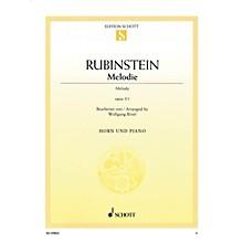 Schott Melodie Op. 3, No. 1 (Horn and Piano) Misc Series