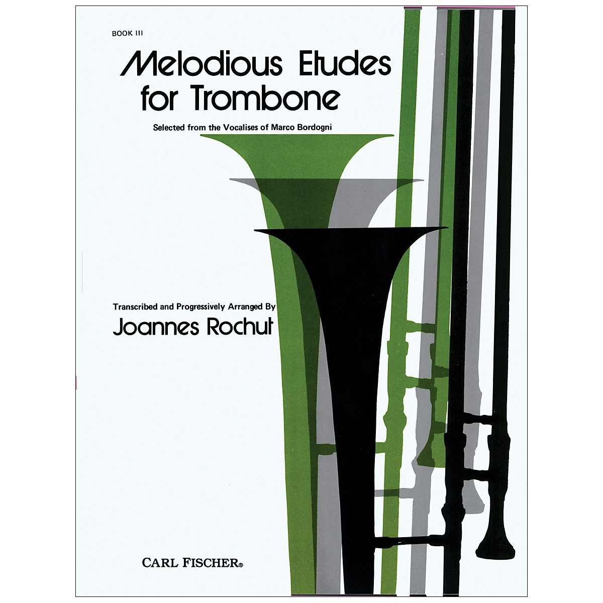 Carl Fischer Melodious Etudes for Trombone Series
