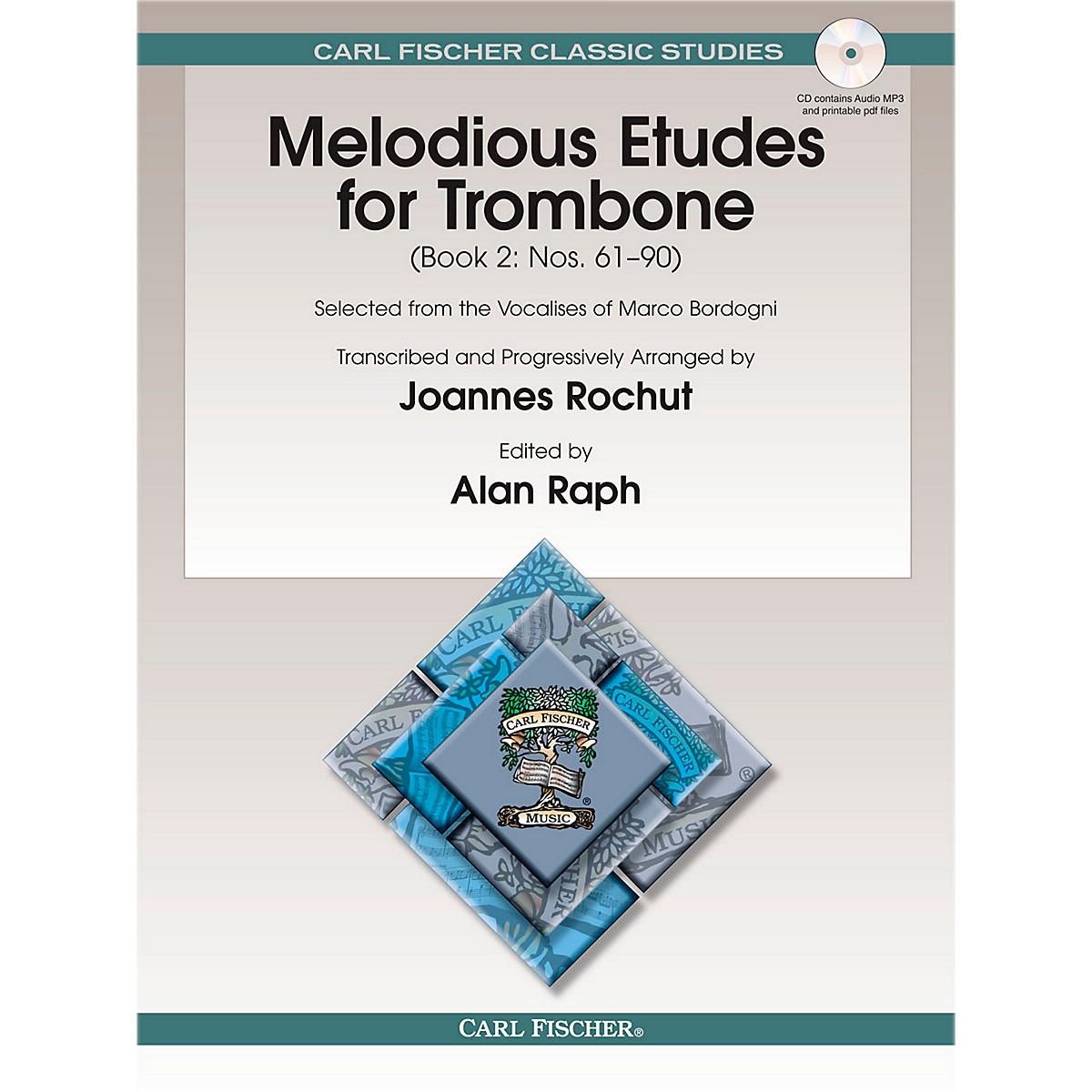 Carl Fischer Melodious Etudes for Trombone, Vol. 2
