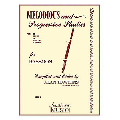 Southern Melodious and Progressive Studies, Book 1 (Bassoon) Southern Music Series by Alan Hawkins
