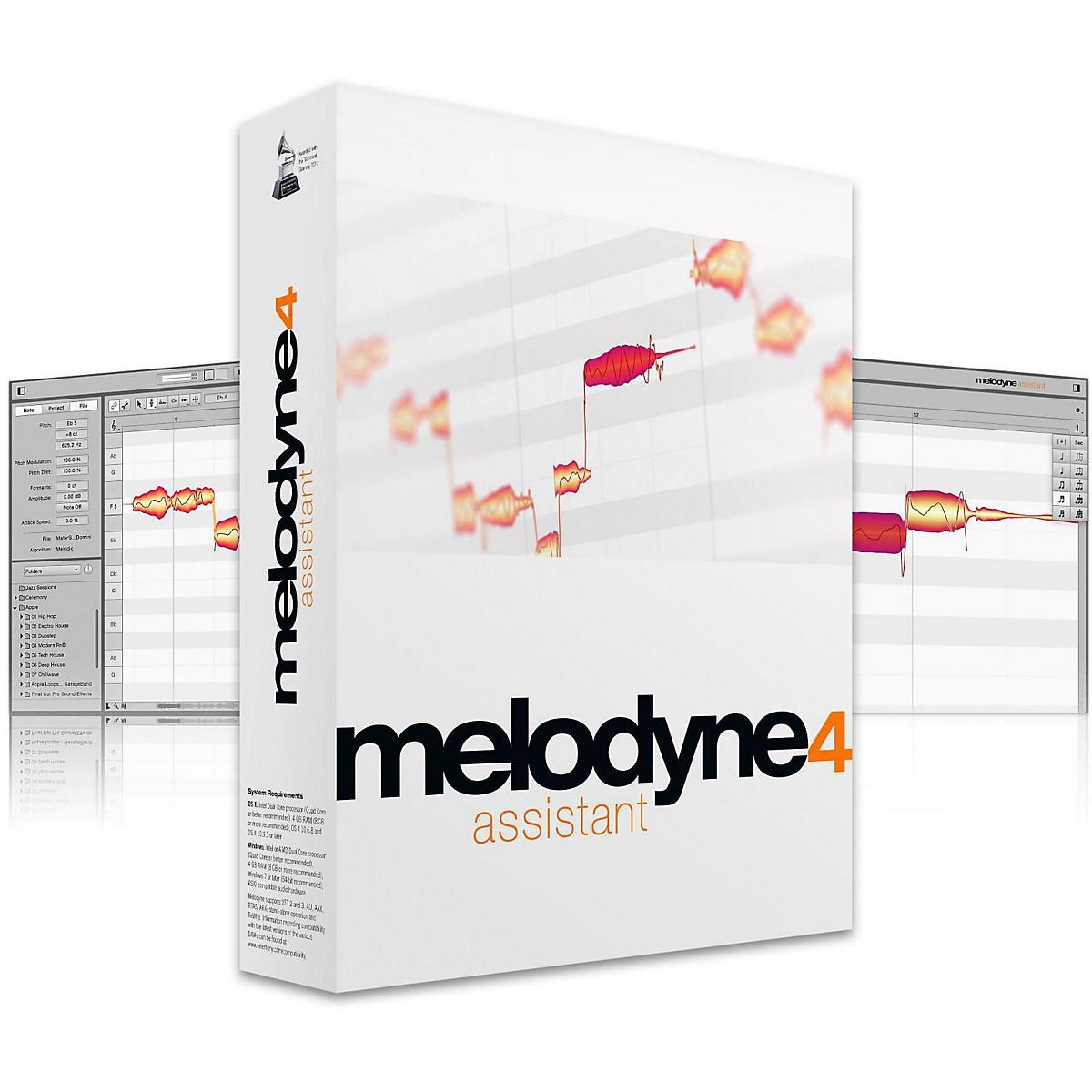 Celemony Melodyne 4 Assistant Box