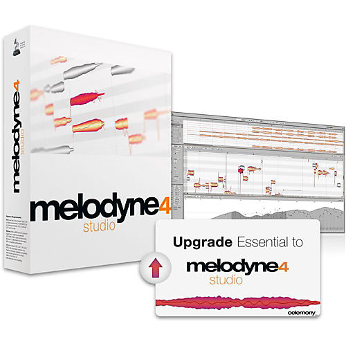 Celemony Melodyne 4 Studio - Essential Upgrade