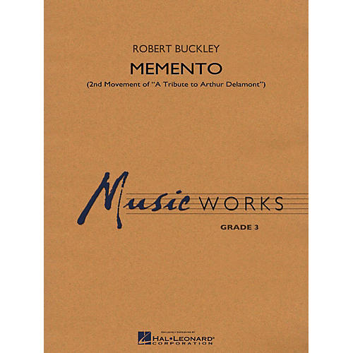 Hal Leonard Memento (2nd Mvt Of  A Tribute To Arthur Delamont) Concert Band Level 3