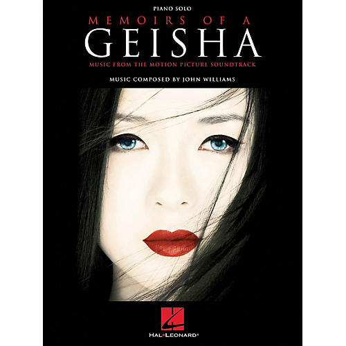 Hal Leonard Memoirs Of A Geisha Piano Solo Music From The Motion Picture Soundtrack