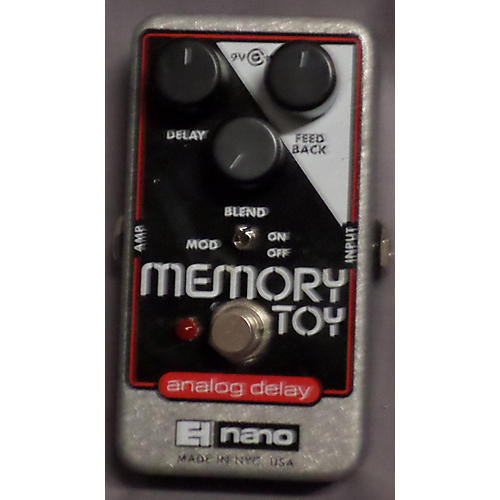 Electro-Harmonix Memory Toy Analog Delay Silver Effect Pedal