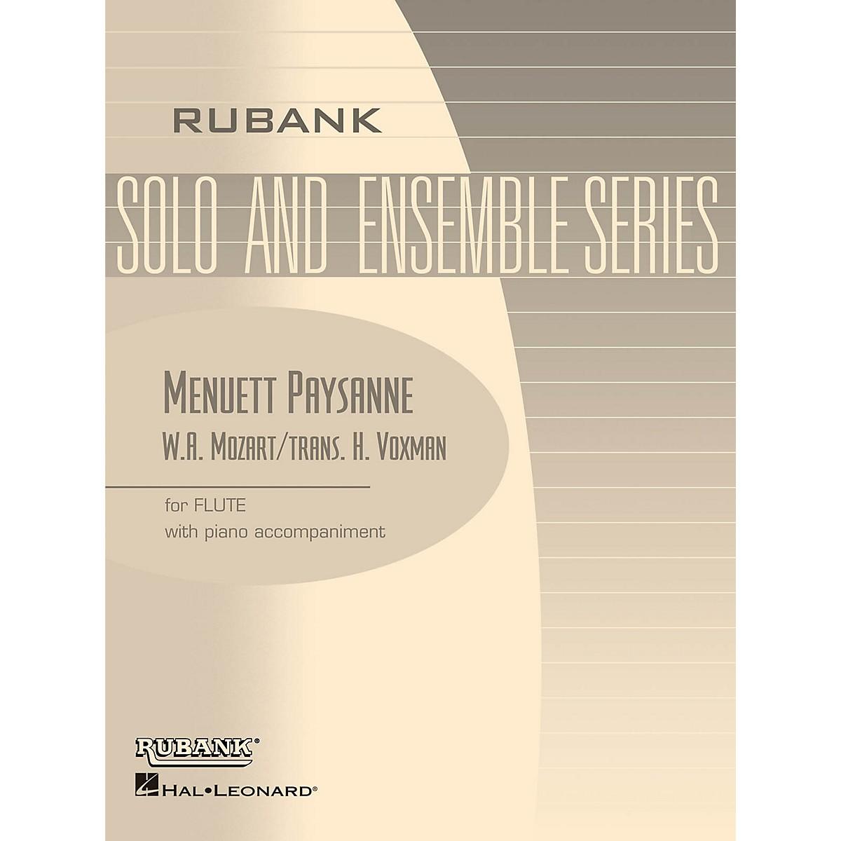 Rubank Publications Menuett Paysanne (Flute Solo with Piano - Grade 2) Rubank Solo/Ensemble Sheet Series