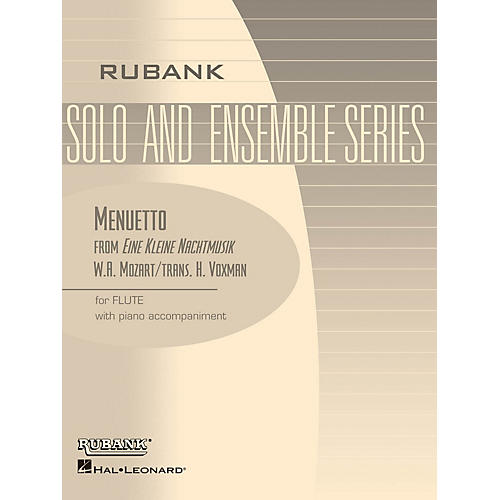 Rubank Publications Menuetto from Eine Kleine Nachtmusik Rubank Solo/Ensemble Sheet Series Softcover