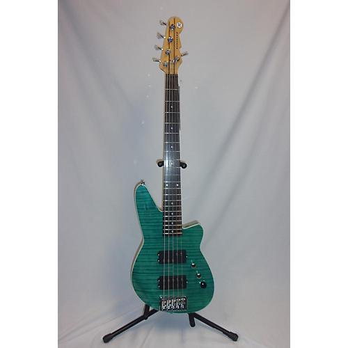 used reverend mercalli 5 electric bass guitar aqua guitar center. Black Bedroom Furniture Sets. Home Design Ideas