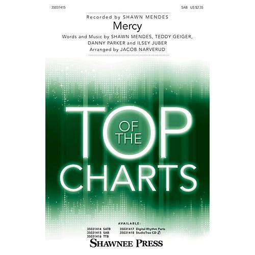 Shawnee Press Mercy SAB by Shawn Mendes arranged by Jacob Narverud