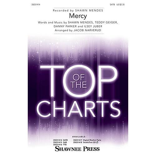Shawnee Press Mercy SATB by Shawn Mendes arranged by Jacob Narverud