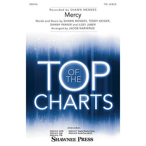 Shawnee Press Mercy TTB by Shawn Mendes arranged by Jacob Narverud