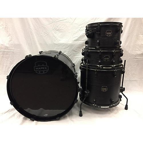 Mapex Meridian Black Raven Limited Edition Drum Kit