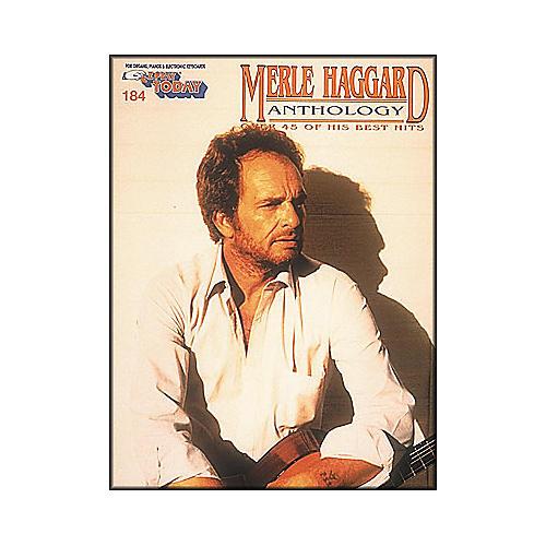 Hal Leonard Merle Haggard Anthology E-Z Play 184