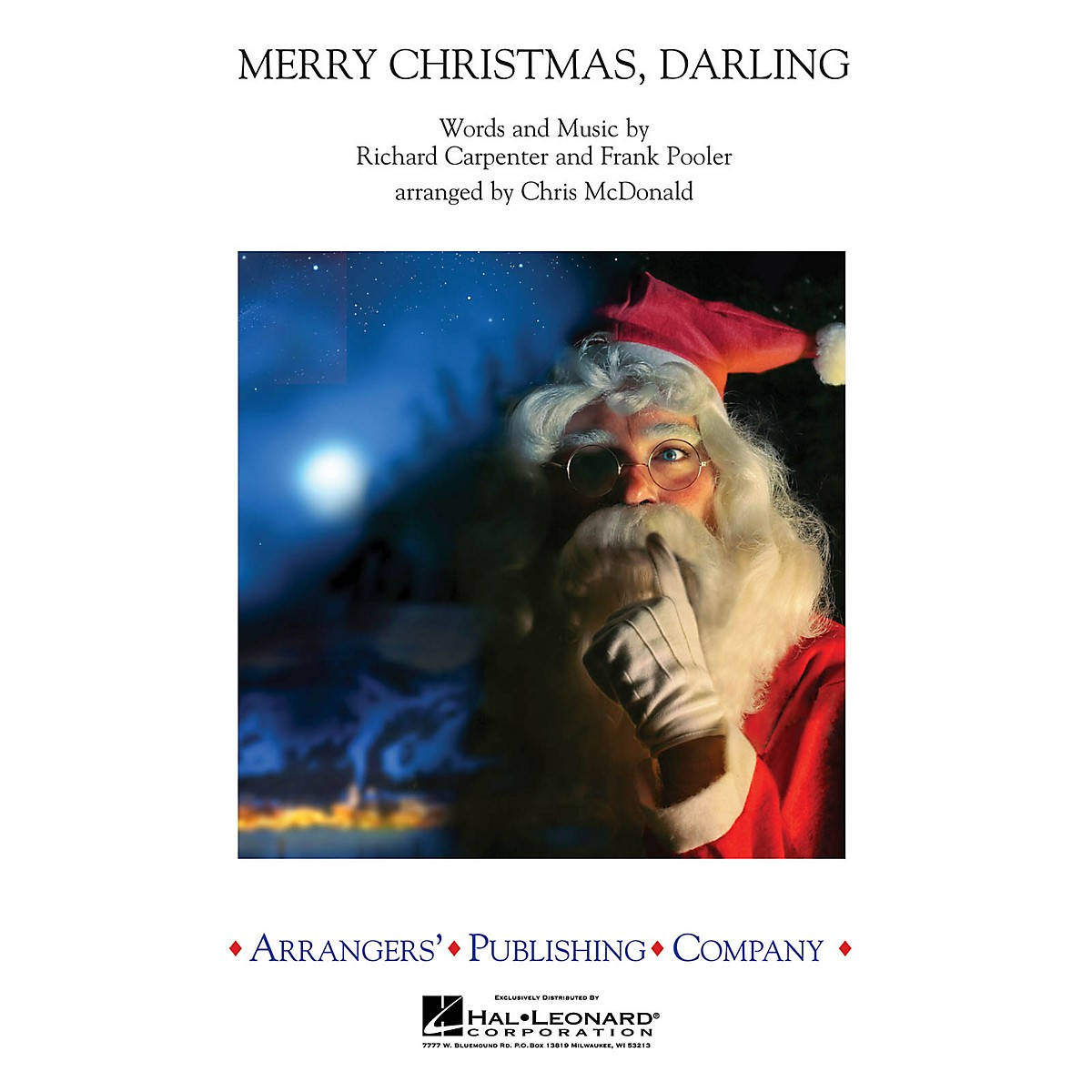 Arrangers Merry Christmas, Darling Concert Band Arranged by Chris McDonald
