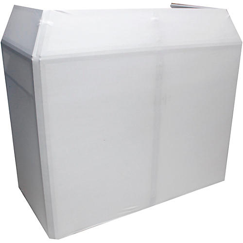 ProX Mesa MK2 DJ Facade Table Station Includes White & Black Scrims and Padded Carry Bag