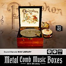 Best Service Metal Comb Music Boxes