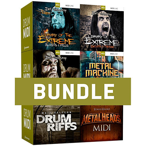 Toontrack Metal Drums MIDI 6-Pack Software Download