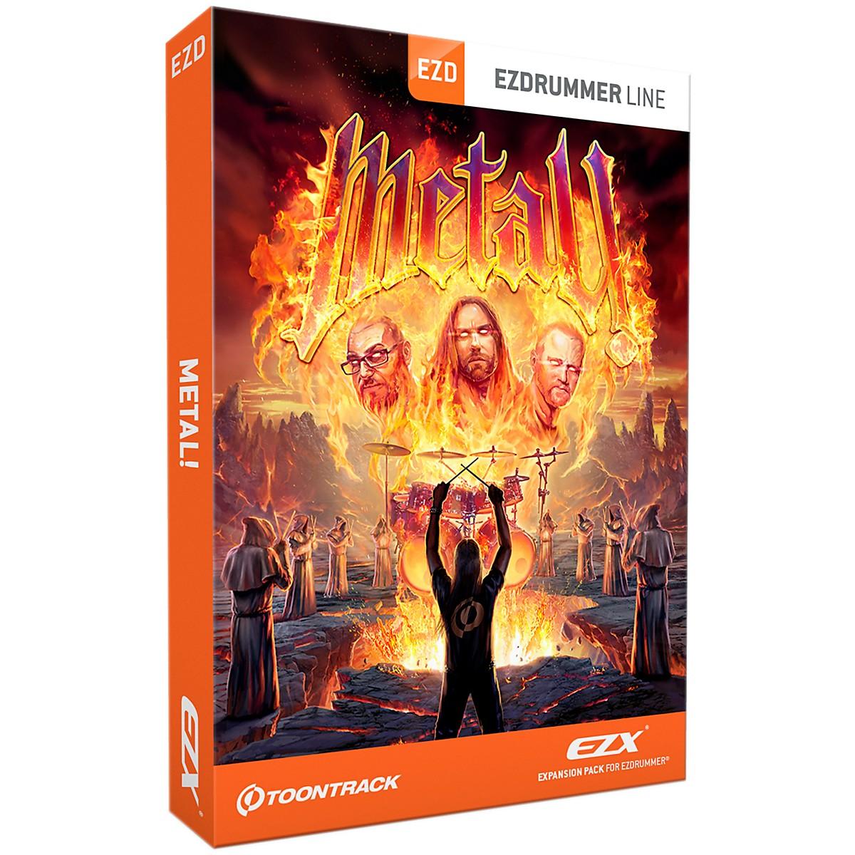 Toontrack Metal! EZX Software Download