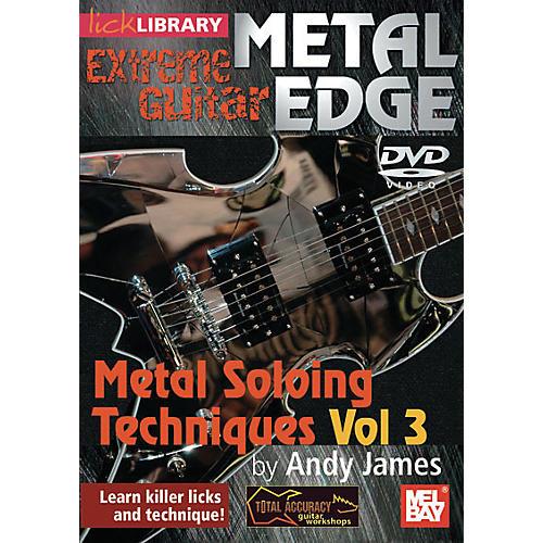 Mel Bay Metal Edge: Metal Soloing Techniques Vol. 3 DVD
