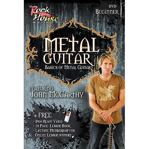 Hal Leonard Metal Guitar Beginner DVD