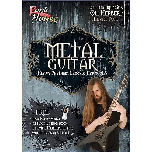 Hal Leonard Metal Guitar- Heavy Rhythms, Leads & Harmonies Level 2 with Oli Herbert of All That Remains (DVD)