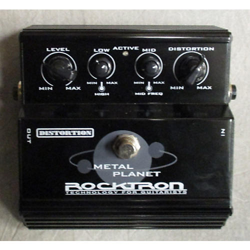 Rocktron Metal Planet Distortion Effect Pedal