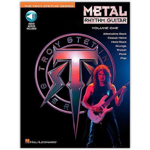 Hal Leonard Metal Rhythm Guitar Volume 1 (Book/Online Audio)